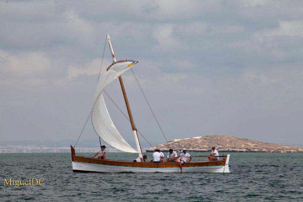 regata de vela latina Cartagena
